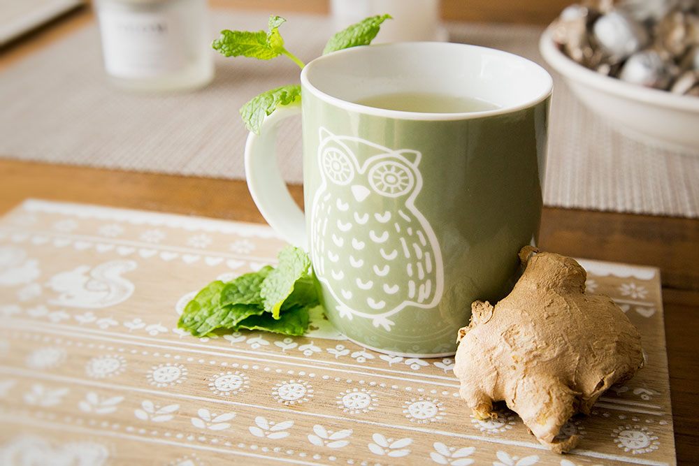 how to make strong ginger tea