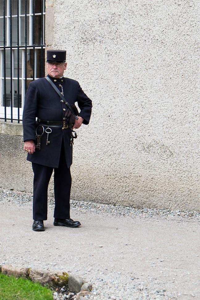 Guard at Inverary Jail
