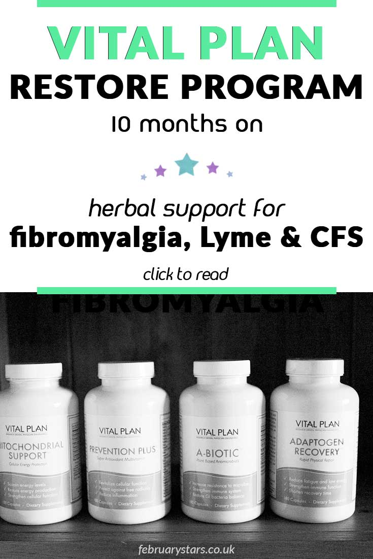 How I am doing after 10 months on the Vital Plan Restore Program. Click to read. #vitalplan #restoreprogram #lymedisease #fibromyalgia #cfs #treatment #herbaltherapy