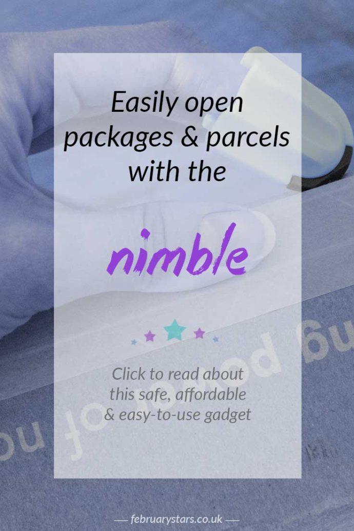 Easily and safely open packages and parcels with the Nimble. Click to read more about this handy gadget or pin to save for later.