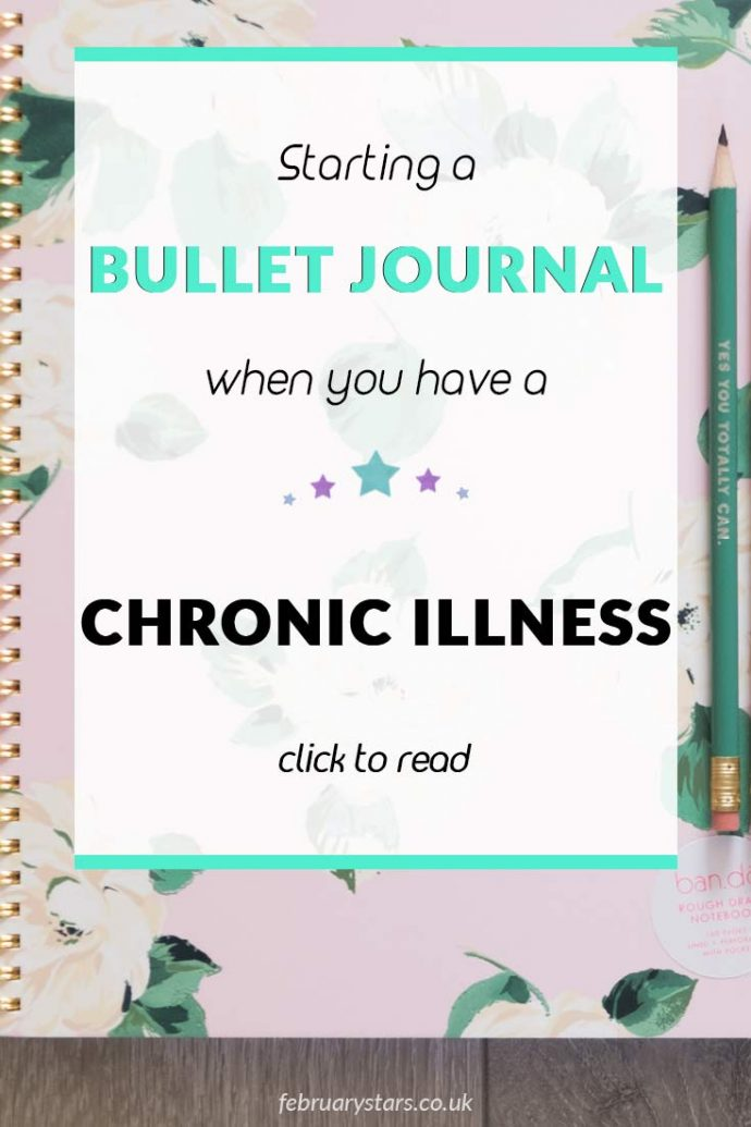 I have chronic illnesses. Learn why I am starting a bullet journal and how I hope it helps me. Click to read or pin to save for later.